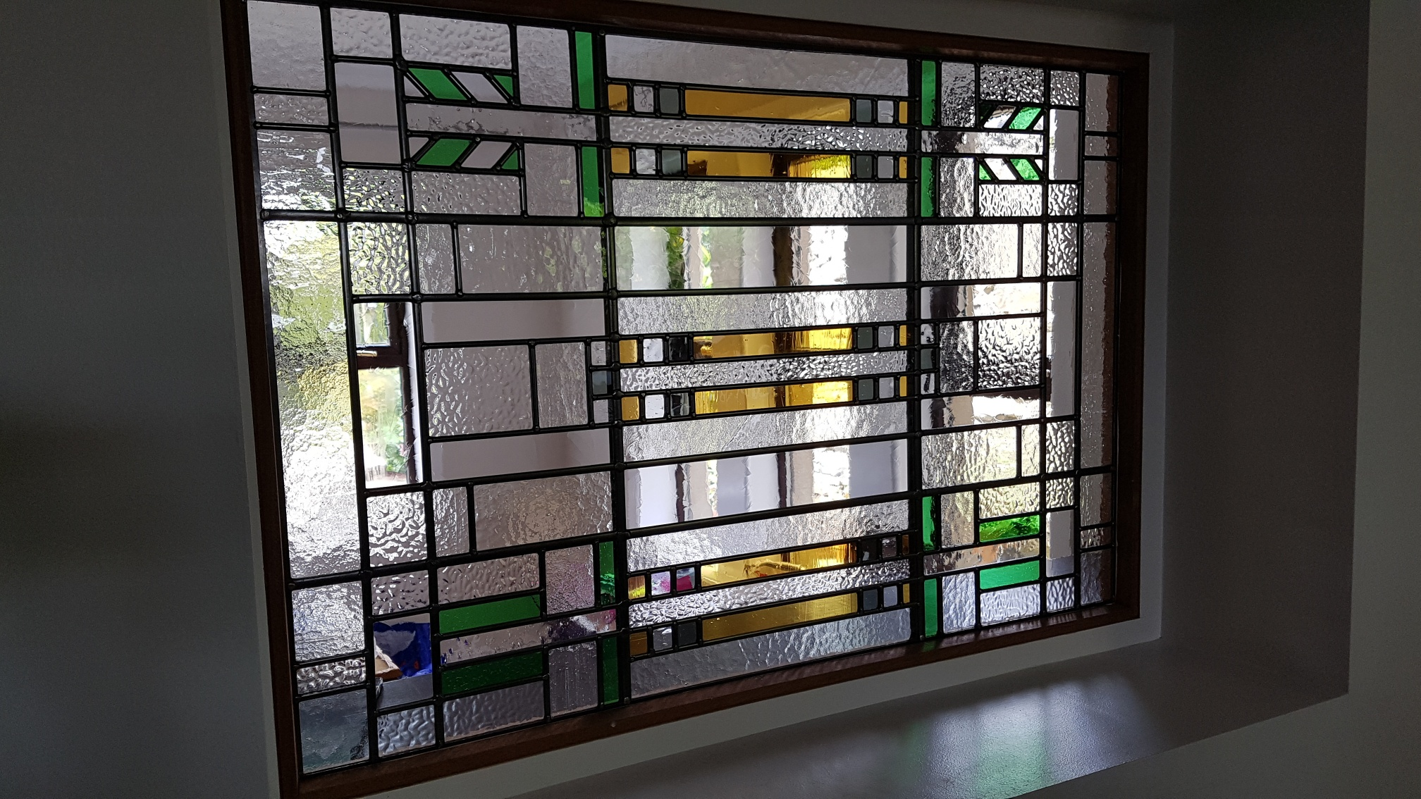 Wright Brothers Stained Glass Lamp : After frank lloyd wright stained glass artists