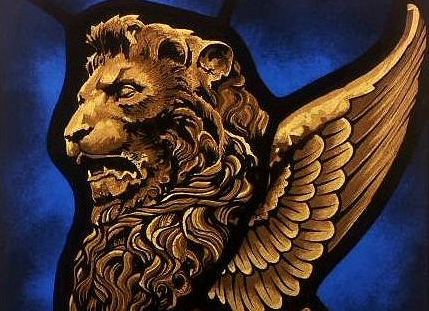 Winged Lion Stained Glass Stained Glass Artists